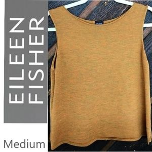 Medium Eileen Fisher knit 100% wool sweater tank